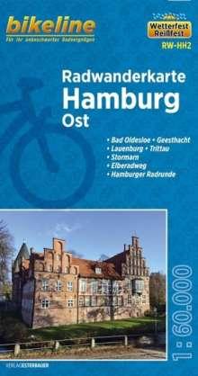 Bikeline Radwanderkarte Hamburg Ost 1 : 60 000, Diverse