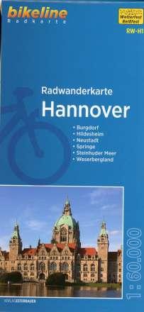 Bikeline Radwanderkarte Hannover 1 : 60 000, Diverse