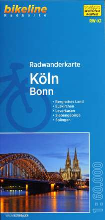Bikeline Radwanderkarte Köln / Bonn 1 : 60 000, Diverse