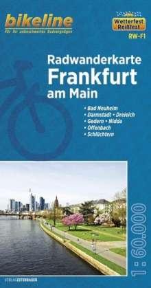 Bikeline Radwanderkarte Frankfurt/Main 1 : 60 000, Diverse