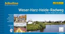 Bikeline Weser-Harz-Heide-Radweg, Buch