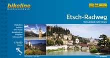Bikeline Radtourenbuch Etsch-Radweg, Buch