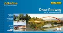 Bikeline Radtourenbuch Drau-Radweg 1 : 50 000, Buch