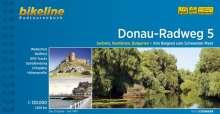 Bikeline Radtourenbuch Donau-Radweg 5, Buch