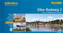 Bikeline Radtourenbuch Elbe-Radweg 2, Buch