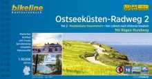 Bikeline Radtourenbuch Ostseeküsten-Radweg 2: Lübeck - Ahlbeck mit Rügen, Buch