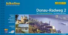 Bikeline Radtourenbuch Donau-Radweg 2: Passau - Wien, Buch
