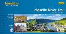 Cycline Radtourenbuch Moselle River Trail, Buch