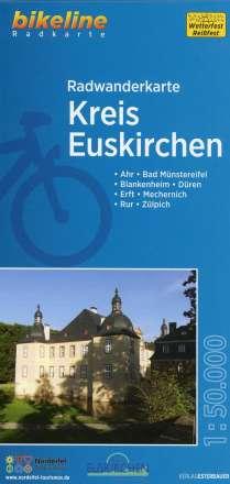 Bikeline Radwanderkarte Kreis Euskirchen, Diverse