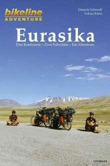 Daniela Schmidt: Bikeline Adventure Eurasika, Buch