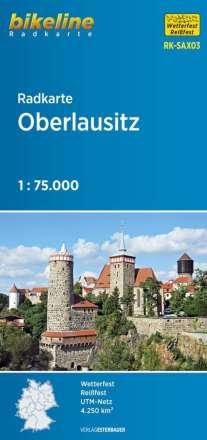 Bikeline Radkarte Oberlausitz 1 : 75 000, Diverse