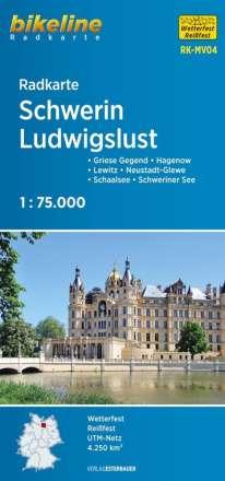 Radkarte Schwerin Ludwigslust (RK-MV04), Diverse