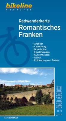 Bikeline Radwanderkarte Romantisches Franken, Diverse