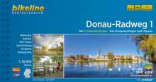 Bikeline Radtourenbuch Donau-Radweg 1, Buch
