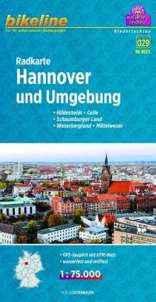 Bikeline Radkarte Hannover und Umgebung (RK-NDS13), Diverse