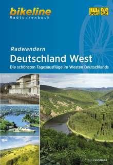 Radwandern Deutschland West, Buch