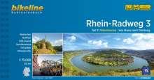 Bikeline Radtourenbuch Rhein-Radweg 03, Buch