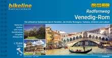 Radfernweg Venedig-Rom, Buch