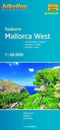 Bikeline Radkarte Mallorca West, Diverse