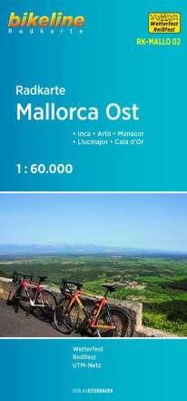 Bikeline Radkarte Mallorca Ost, Diverse