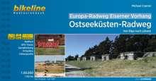Europa-Radweg Eiserner Vorhang Ostseeküsten-Radweg 1 : 85 000, Buch