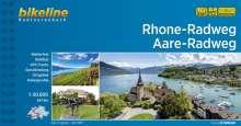 Bikeline Radtourenbuch  Rhone-Radweg . Aare-Radweg, Buch