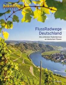 Bikeline FlussRadwege Deutschland, Buch