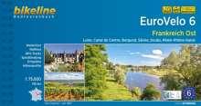 Bikeline Radtourenbuch Eurovelo 6 Frankreich Ost, Buch
