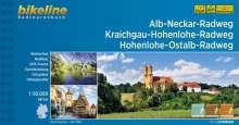 Alb-Neckar-Weg . Kraichgau-Hohenlohe-Radweg . Hohenlohe-Ostalb-Weg, Buch