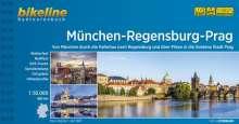 Bikeline Radtourenbuch München-Regensburg-Prag, Buch