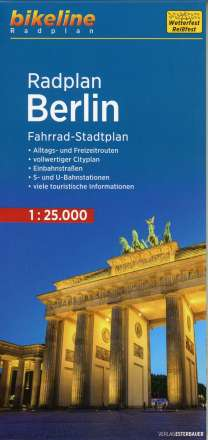 Bikeline Radplan Berlin 1 : 25 000, Diverse