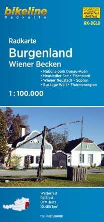Bikeline Radkarte Österreich Burgenland 1: 100 000, Diverse