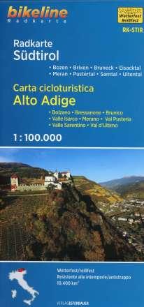 Radkarte Südtirol 1:100.000, Diverse