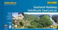 Saarland-Radweg . VeloRoute SaarLorLux, Buch