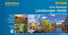 Flussradwege Lüneburger Heide. Ilmenau, Luhe, Seeve, Wümme, 1:50.000, 520 km, Buch
