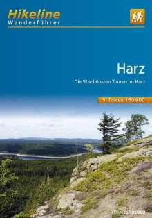 Wanderführer Harz, Buch
