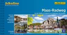 Maas-Radweg 1:75.000, Buch