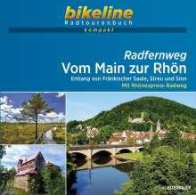 Radfernweg Vom Main zur Rhön 1 : 50 000, Buch