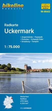 Radkarte Uckermark 1 : 75.000 (RK-BRA02), Diverse
