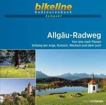 Allgäu-Radweg 1 : 50 000, Buch