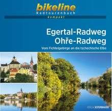 Egertal-Radweg . Ohre-Radweg 1 : 50 000, Buch