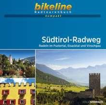 Südtirol-Radweg 1 : 50 000, Buch