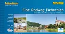 Elbe-Radweg Tschechien, Buch