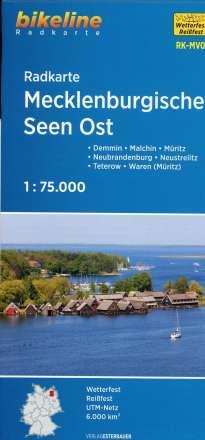 Radkarte Mecklenburgische Seen Ost 1:75.000 (RK-MV07), Diverse