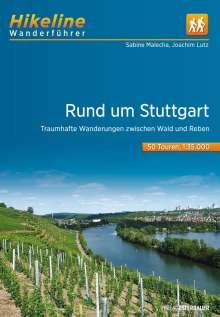 Sabine Malecha: Wanderführer Rund um Stuttgart, Buch