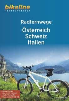 RadFernWege Österreich, Schweiz, Italien, Buch