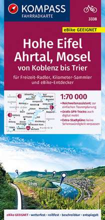 Hohe Eifel - Koblenz - Rhein-Westerwald 1 : 70 000, Diverse