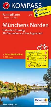 Münchens Norden - Hallertau - Freising - Pfaffenhofen a.d. Ilm - Ingolstadt 1 : 70 000, Diverse