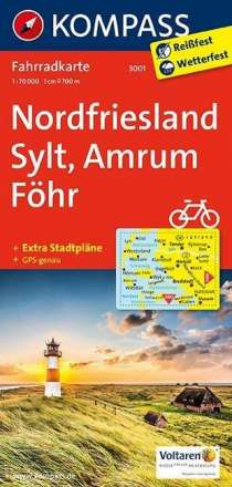 Nordfriesland - Sylt - Amrum - Föhr 1 : 70 000, Diverse