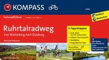 Bernhard Pollmann: KOMPASS Fahrradführer Ruhrtalradweg, Buch
